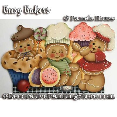 Busy Bakers e-Pattern - Pamela House - PDF DOWNLOAD