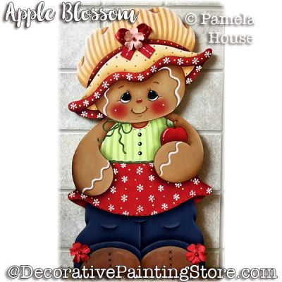 Apple Blossom e-Pattern - Pamela House - PDF DOWNLOAD