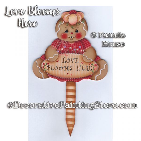 Love Blooms Here e-Pattern - Pamela House - PDF DOWNLOAD