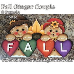 Fall Ginger Couple e-Pattern - Pamela House - PDF DOWNLOAD