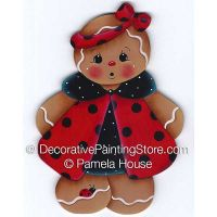 Gingers Ladybug Dress by Pamela House - PDF DOWNLOAD