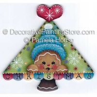 Christmas Tree Ginger by Pamela House - PDF DOWNLOAD