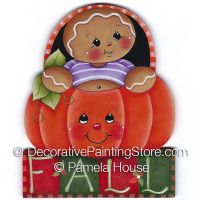 Gingers Fall Pumpkin by Pamela House - PDF DOWNLOAD