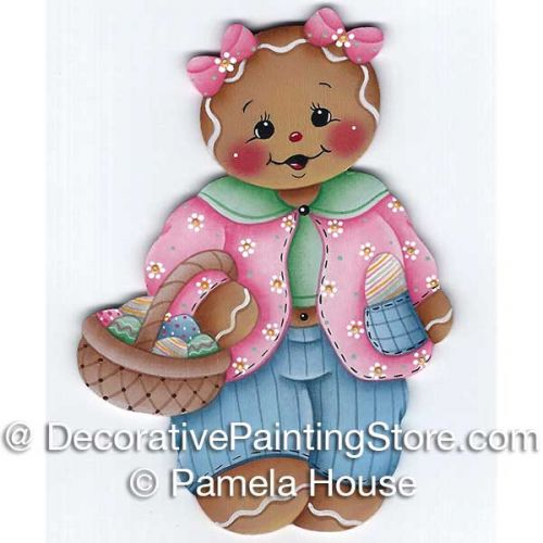 Easter Gingerbread Girl by Pamela House - PDF DOWNLOAD