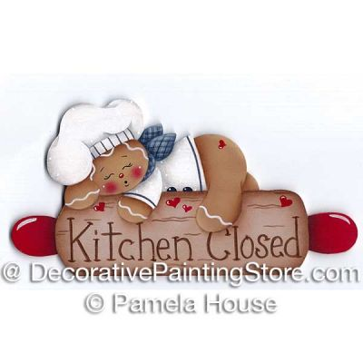 Kitchen Closed by Pamela House - PDF DOWNLOAD