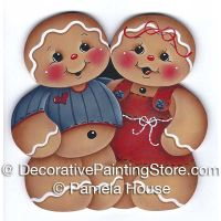 Happy Ginger Couple by Pamela House - PDF DOWNLOAD