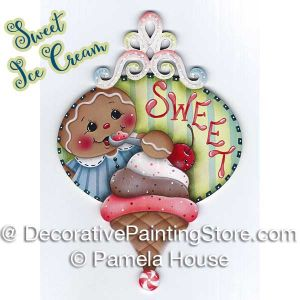 Sweet Ice Cream Ginger by Pamela House - PDF DOWNLOAD