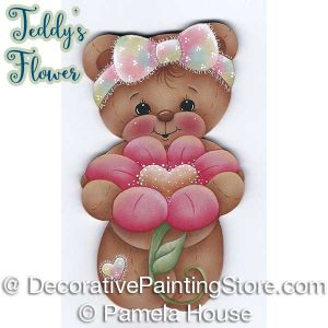 Teddys Flower by Pamela House - PDF DOWNLOAD