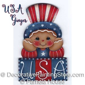USA Ginger by Pamela House - PDF DOWNLOAD