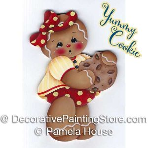 Yummy Cookie Ginger by Pamela House - PDF DOWNLOAD