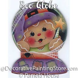 Boo Globe by Pamela House - PDF DOWNLOAD