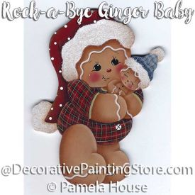 Rock-a-Bye Ginger Baby by Pamela House - PDF DOWNLOAD