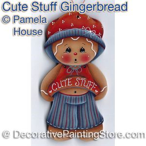 Cute Stuff Gingerbread by Pamela House - PDF DOWNLOAD