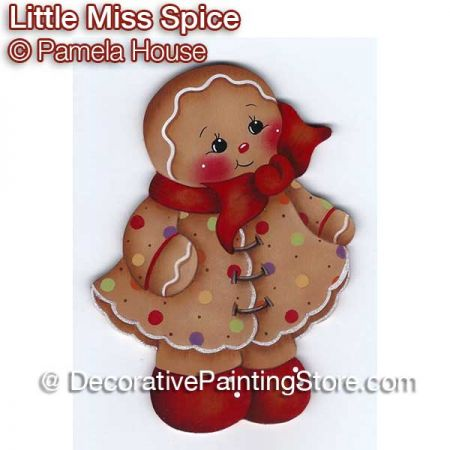 Little Miss Spice Ginger by Pamela House - PDF DOWNLOAD