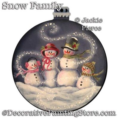 Snowman Family Download - Jackie Pierce