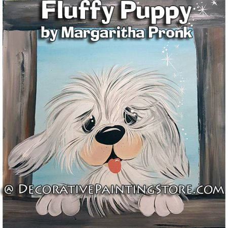 Fluffy Puppy - Margaritha Pronk- PDF DOWNLOAD