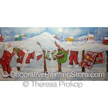 Santa Getting His Suit Ready ePacket - Theresa Prokop - PDF DOWNLOAD