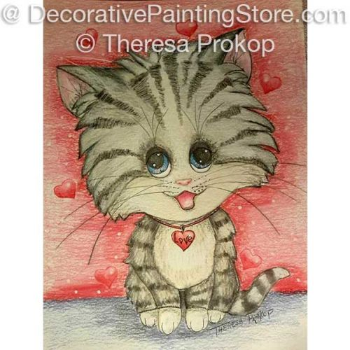 Valentine Kitty ePacket - Theresa Prokop - PDF DOWNLOAD
