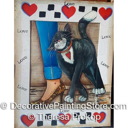 Lovey Valentine Cat and Friend ePacket - Theresa Prokop - PDF DOWNLOAD