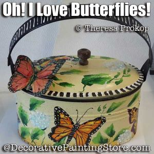 Oh I Love Butterflies ePacket - Theresa Prokop - PDF DOWNLOAD