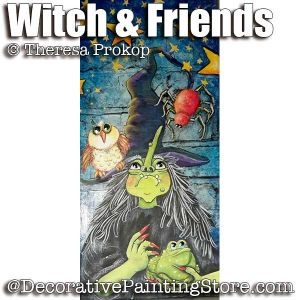 Witch and Friends ePacket - Theresa Prokop - PDF DOWNLOAD