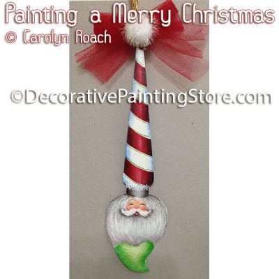 Painting a Merry Christmas ePattern - Carolyn Roach - PDF DOWNLOAD