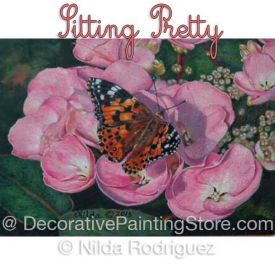 Sitting Pretty Colored Pencil ePattern - Nilda Rodriguez - PDF Download
