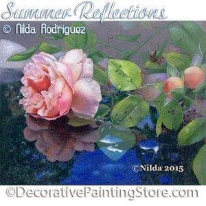 Summer Reflections Painting Pattern PDF Download - Nilda Rodriguez