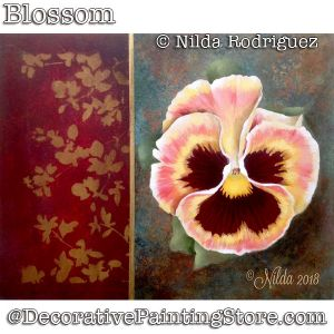 Blossom (Pansy) DOWNLOAD - Nilda Rodriguez
