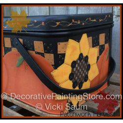 Patchwork Harvest ePattern - Vicki Saum - PDF DOWNLOAD