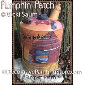 Pumpkin Patch ePattern - Vicki Saum - PDF DOWNLOAD