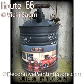 Route 66 ePattern - Vicki Saum - PDF DOWNLOAD