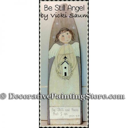 Be Still Angel ePattern - Vicki Saum - PDF DOWNLOAD