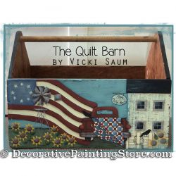 Quilt Barn ePattern - Vicki Saum - PDF DOWNLOAD