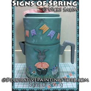Signs Spring ePattern - Vicki Saum - PDF DOWNLOAD