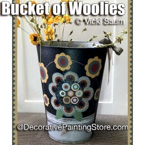 Bucket of Woolies ePattern - Vicki Saum - PDF DOWNLOAD
