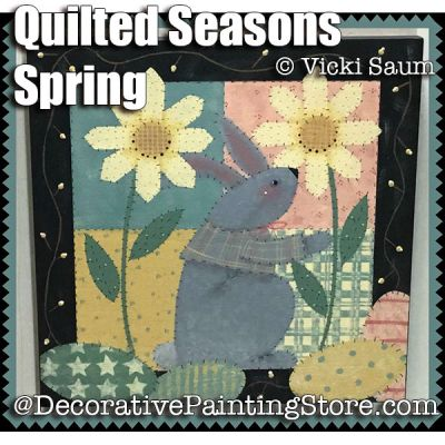 Quilted Seasons - Spring ePattern - Vicki Saum - PDF DOWNLOAD