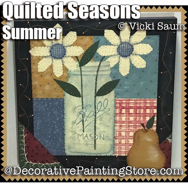 Quilted Seasons - Summer ePattern - Vicki Saum - PDF DOWNLOAD