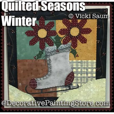 Quilted Seasons - Winter ePattern - Vicki Saum - PDF DOWNLOAD