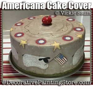 Americana Cake Cover - Winter ePattern - Vicki Saum - PDF DOWNLOAD