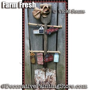 Farm Fresh ePattern - Vicki Saum - PDF DOWNLOAD