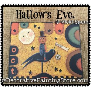 Hallows Eve e-Pattern - Vicki Saum - PDF DOWNLOAD