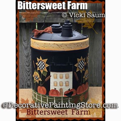 Bittersweet Farm e-Pattern - Vicki Saum - PDF DOWNLOAD