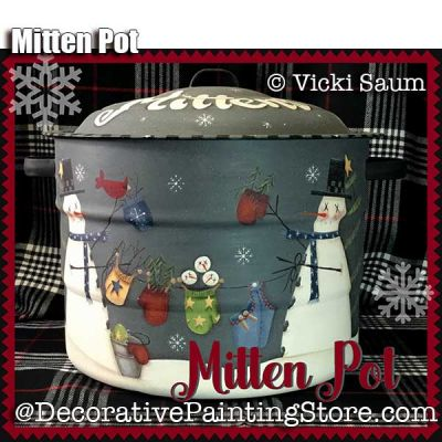 Mitten Pot e-Pattern - Vicki Saum - PDF DOWNLOAD
