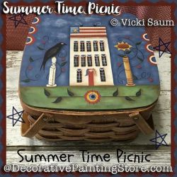 Summer Time Picnic e-Pattern - Vicki Saum - PDF DOWNLOAD