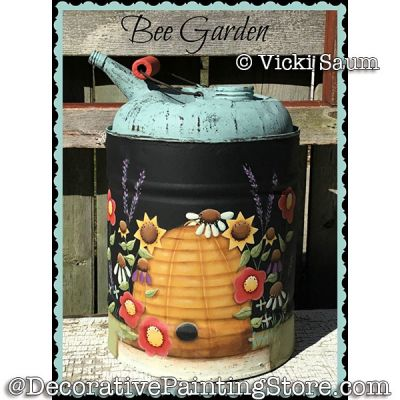 Bee Garden e-Pattern - Vicki Saum - PDF DOWNLOAD