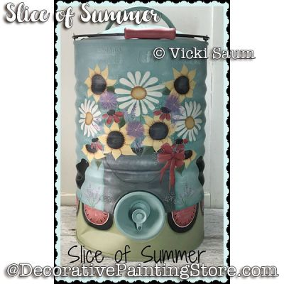Slice of Summer e-Pattern - Vicki Saum - PDF DOWNLOAD