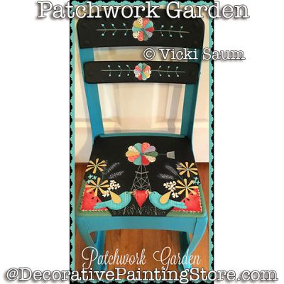 Patchwork Garden e-Pattern - Vicki Saum - PDF DOWNLOAD