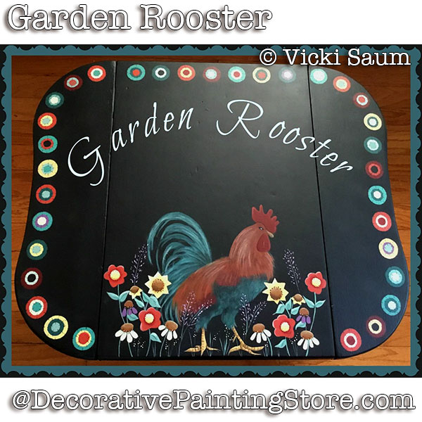 Garden Rooster Download - Vicki Saum