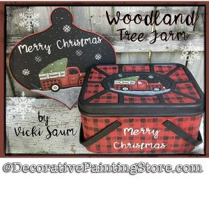 Woodland Tree Farm Download - Vicki Saum